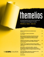 Post image for Themelios Journal July 2010