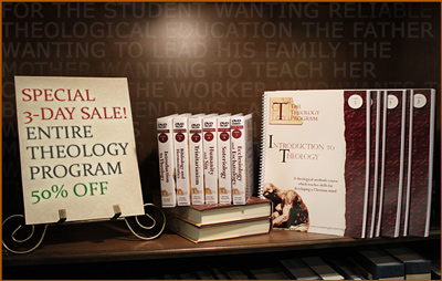 Post image for The Theology Program Discounted