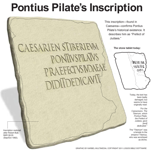 Post image for Pontius Pilate's Inscription
