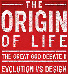 Post image for Free Live Stream Debate Tonight: Evolution Vs. Design